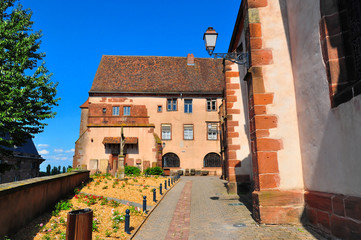 View of Saverne, an old town in Lorraine, France