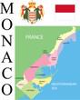 Monaco Map .