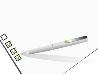 stylo vert