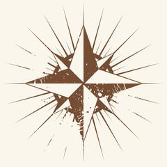 navigation kompass grunge vintage