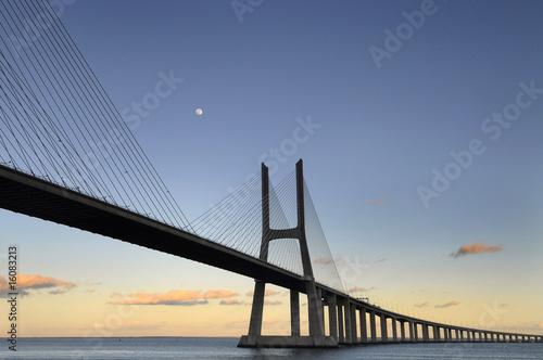 Obraz na Plexi Vasco da Gama Bridge