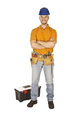 standing worker