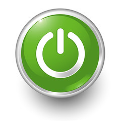 boton verde encendido