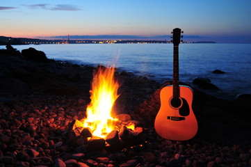 Acoustic Sunset