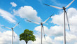 Ecology, Tree and Wind turbines