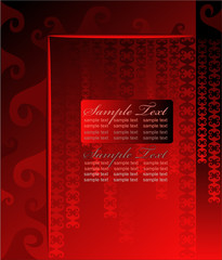 Abstract Satin Red All-Purpose background