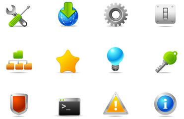 Philos icons - set 3 | Utility and Setting