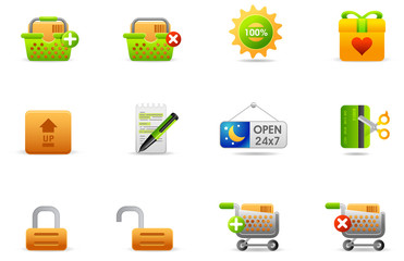Philos icons - set 6 | Store and eCommerce