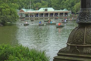 Barche a Central Park