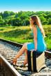 on railway