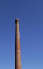 pollution, cheminées d'usine