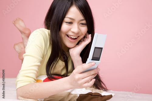 Kobiety z telefonu kom�rkowego