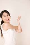 Fototapety 体操をしている女性