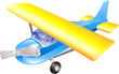 Aeroplane cartoon