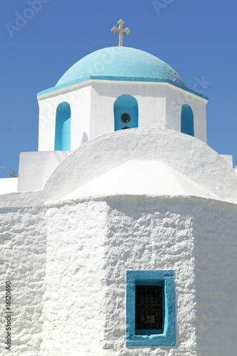 Greece, Naxos, church