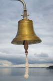 Bell on ship, close up