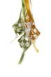 Hanging ribbon ketupats
