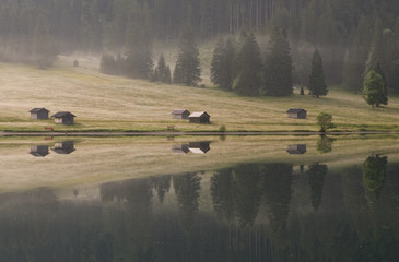 Morgens am Vilsalpsee