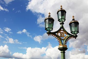 lamp in the sky