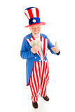 Uncle Sam - Economic Recovery poster