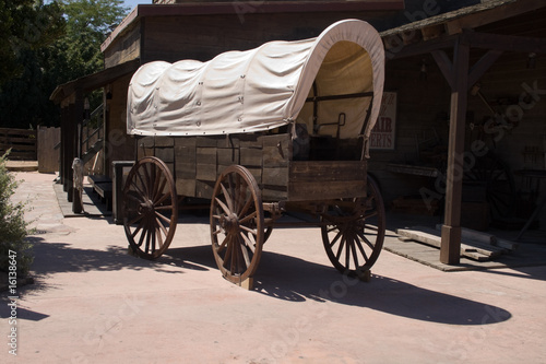 old waggon from wild west