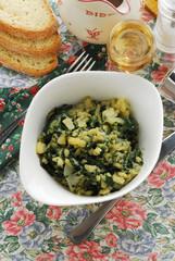 Bietole patate e aglio - Contorni