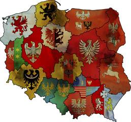 herby wojewodztw w polsce
