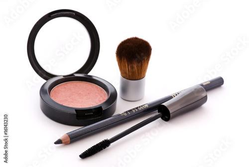 Leinwandbild Motiv Kosmetik Artikel