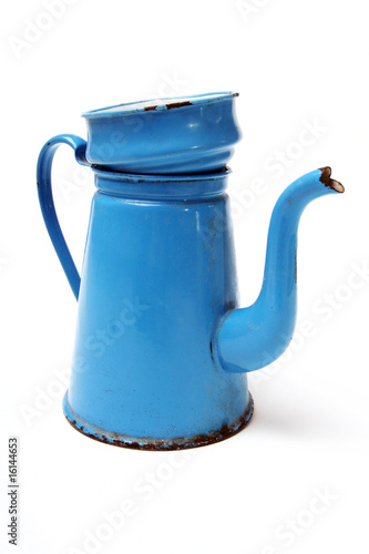 coffee pot madam blue