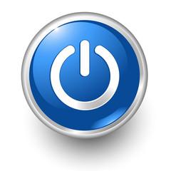 boton azul encendido