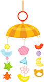 baby wind chime poster