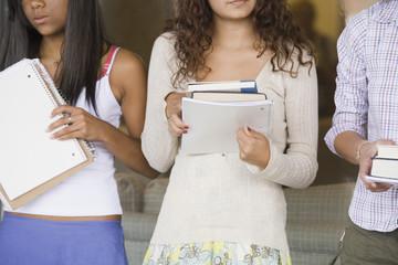 Teen school girls