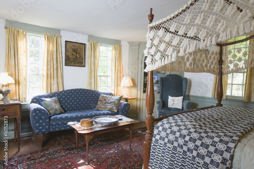 Antique house interior
