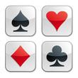 Square button / Ace