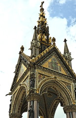 L'Albert Memorial - Kensington Gardens - Londres, Angleterre