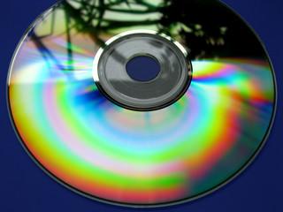 Compact disc- CD Regenbogen