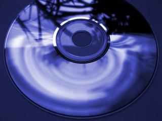 Compact disc - CD blau