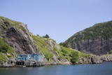 Harbour at Quidi Vidi, Newfoundland poster
