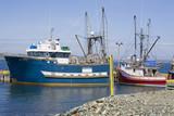 Newfoundland Fishing Boats poster