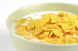 cornflakes and milk