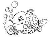 Fototapety fisch, fische, meer,  wasser