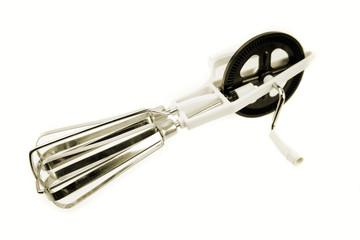 Kitchen mixer isolated on white