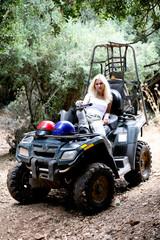 After an ATV adventure