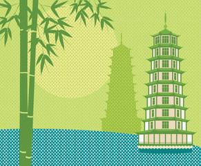 pagoda Card