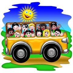 Scuola Bus-School Bus-Autobus école