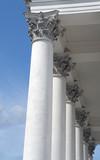 Corinthian Columns poster