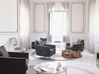 Modern hotel suite