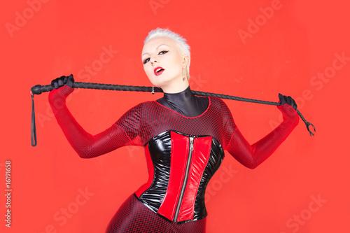 Sexy dominatrix