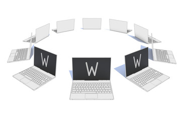 laptop network