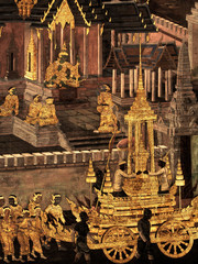 King palace - Ramayana murals nb.7